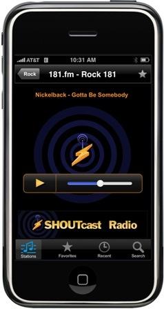 Shoutcast-nowplaying-nickelback