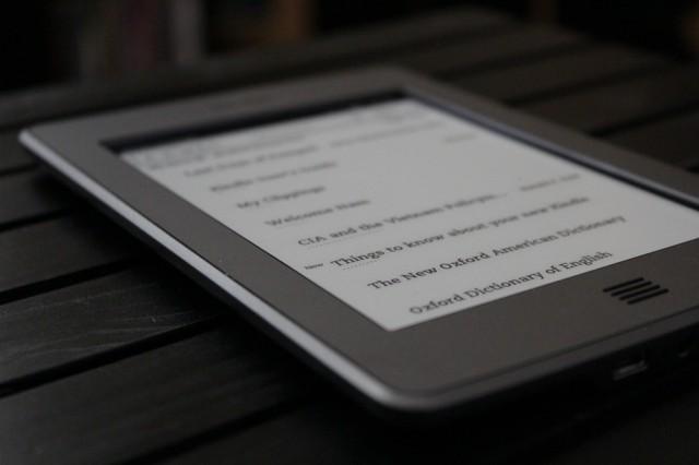 Amazon Kindle on the Table