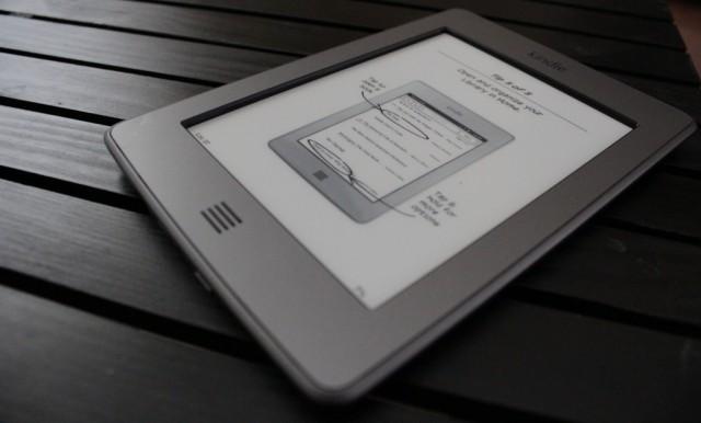 Amazon Kindle on a Desk