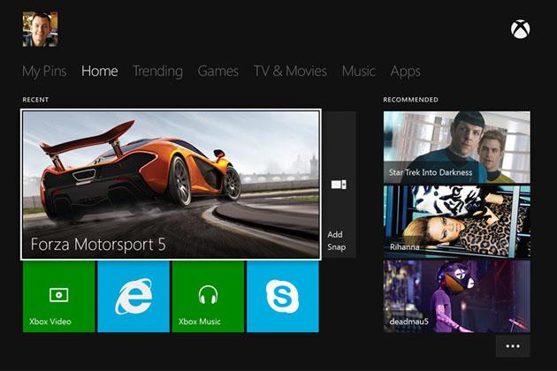 Xbox-One-Dashboard