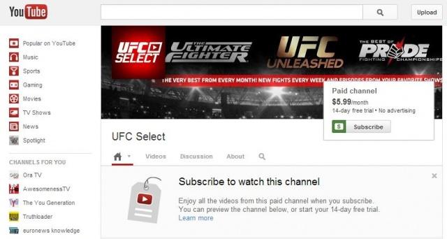 ufc-youtube
