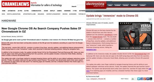 ChannelNews Copy Chrome OS