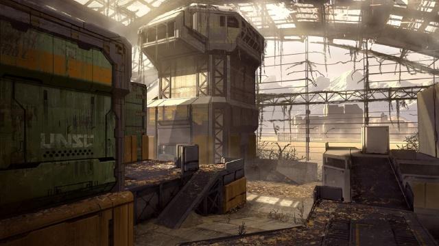 Halo 4 Champions Bundle Concept Pitfall - Abandoned