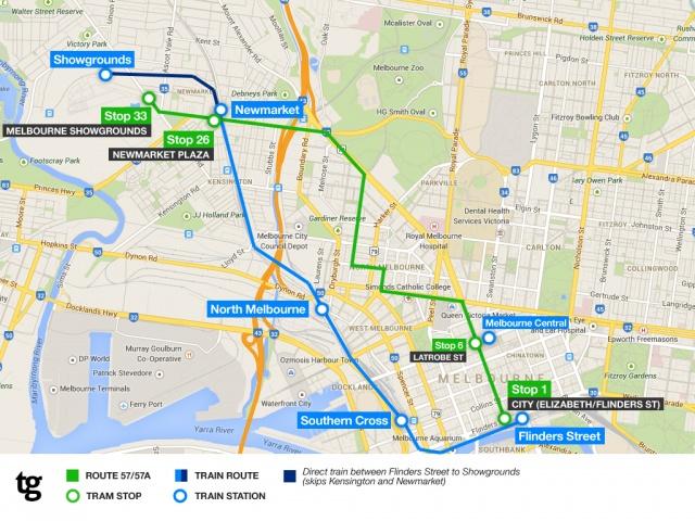 PAX Transport Map