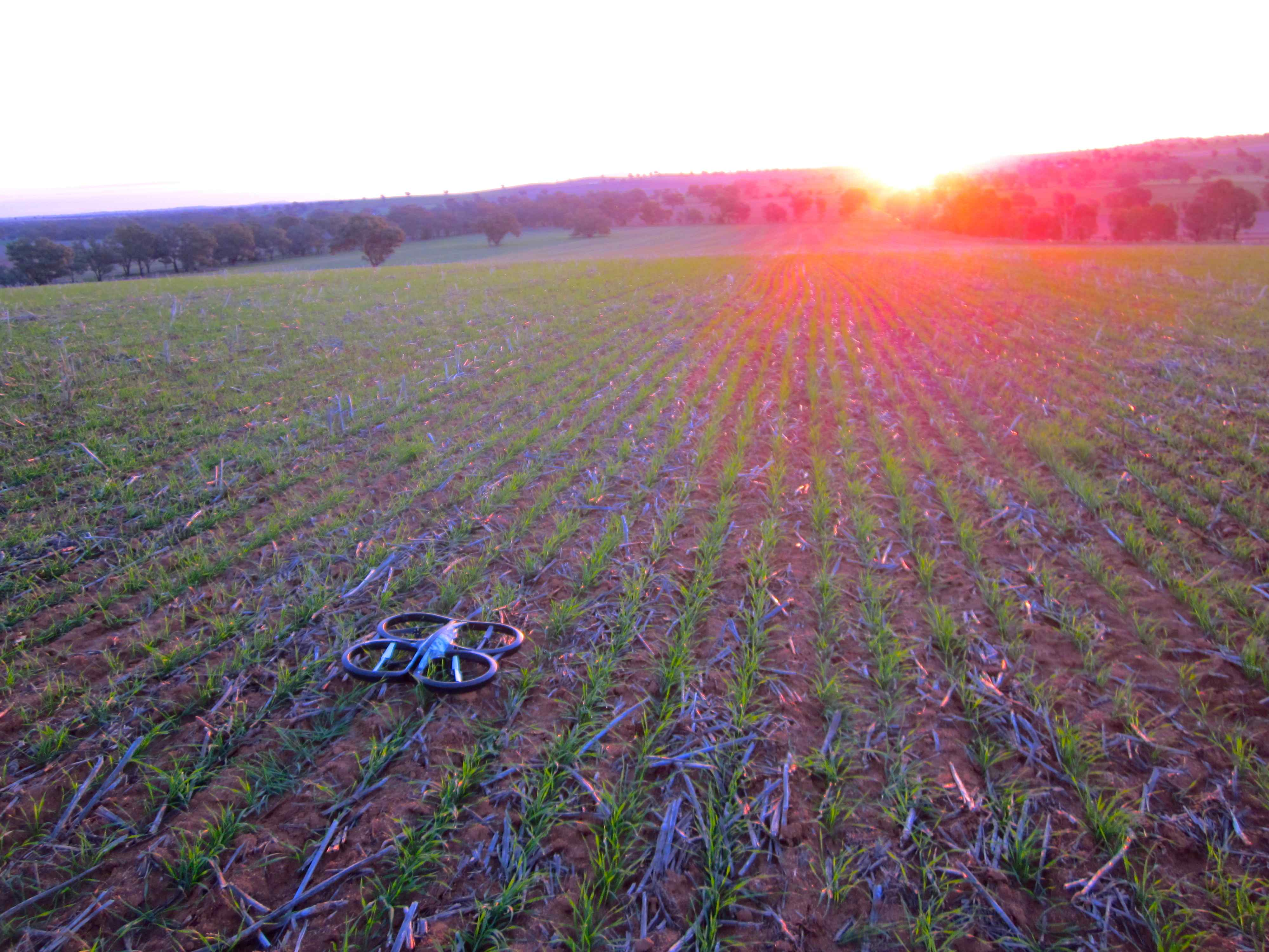 AR.Drone 2.0 Review: In Flight