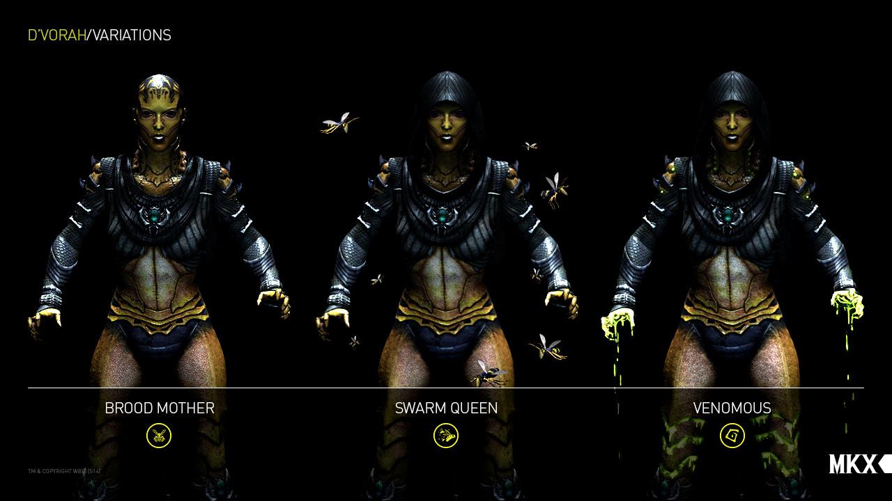 Dvorah-Mortal-Kombat-X-Variations